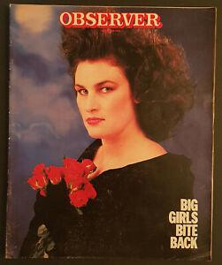Observer 7 Dec 1986 - Jeremy Bamber, Celia Hammond, Communards, Holmes à Court