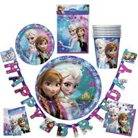 DISNEY FROZEN Party Supplies, Favors, Decorations Bundles (See Selections) NEW