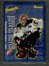 1997-98 Bowman  #140 Pierre-luc Therrien Voltigeurs Signed Autograph