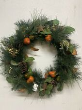 32 Inches Red Berry  Berries Wreath Handmade By Berries Floral Wholesale In TX