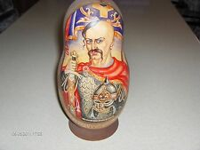 RUSSIAN WARRIOR NESTING DOLLS