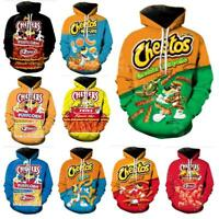 Newest Funny Cheetos 3D Print Hoodie Men Women sweaterCasual Pullover Jumper Top