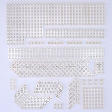 Lego Technic White Studless Beams Liftarms Bricks - Selection of 142 Parts - NEW