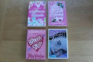 Young Adults/ Teenage Girl Book Bundle x 4