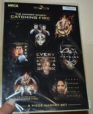 The Hunger Games Catching Fire 8 Piece Magnet Set PETA, KATNISS Licensed NECA