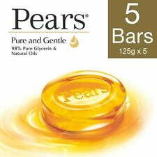 Pears Pure And Gentle Soap Bar Keep Your Skin Young & Moisturised-125g Pack of 5