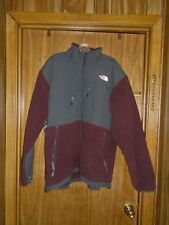Men's North Face Reddish Brown & Gray Jacket Size XL