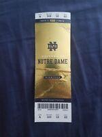2018 Michigan Wolverines vs Notre Dame Fighting Irish Football Ticket Multi Crea