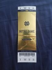 2018 Michigan Wolverines vs Notre Dame Fighting Irish Football Ticket Multi Crea