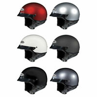 HJC CS-2N Half Shell Motorcycle Helmet DOT - Pick Size & Color