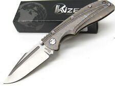 KIZER CUTLERY Semi SPECTRUM Straight CPM-S35VN Folding FRAMELOCK Knife! KI412A2