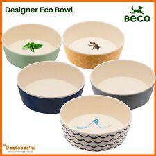 Beco eco sustainable Designer Dog Bowl - 2 sizes pet bowl