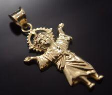 New Santo Divino Niño Medalla Oro Real 14k Gold Divine Child Pendant Jesus Charm