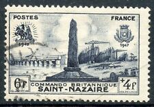 STAMP / TIMBRE FRANCE OBLITERE N° 786  DEBARQUEMENT SAINT NAZAIRE