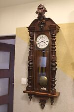 GERMANIA  2 weight  wall clock  at 1900