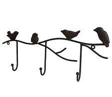 style ancien porte serviette torchon patère crochet de cuisine mural oiseaux