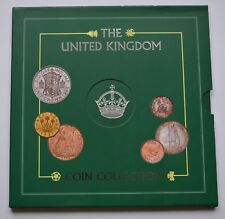 More details for 1946 the united kingdom 8 coin collection (5 silver) rare