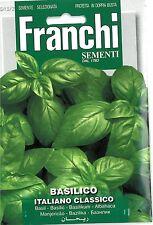 Franchi Seeds Herbs Basil Basilico Italiano Classico seed