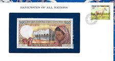 Banknotes of All Nations Comoros Islands 500 Francs 1986 Unc P10a.1 Prefix Z.1