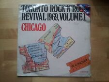 Chicago - Toronto Rock n Roll Revival 1969 LP