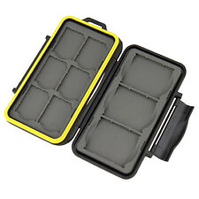 JJC MC-SD6CF3 Memory Card Hard Case for 6 SD + 3 CF Cards Secure with lock _AU