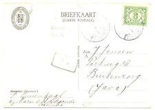 NED INDIE SMN 1934-3-28 AK SMN =MARNIX VAN ST.ALDEGONDE= PM- POSTAGENT F/VF