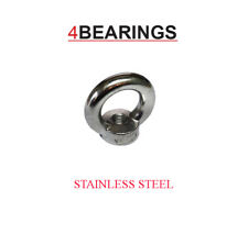 M8 STAINLESS STEEL DIN 582 EYE NUT