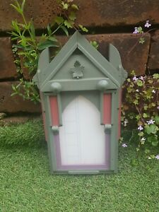 Unique Wooden Photo Frame Chavvy chic Farmhouse Gothic Canada style deep box