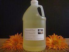 100% Natural Body & Massage Oil 64oz/Half Gallon (Unscented)