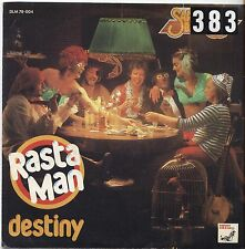 "SARAGOSSA BAND - Rasta man - VINYL 7"" 45 LP ITALY 1976 VG+ COVER VG- CONDITION"
