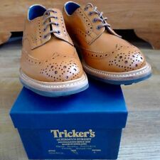 Brogues Shoes Trickers Round for Men
