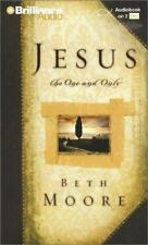 NEW Jesus, the One and Only by Beth Moore (2009, 2 Audio Cassette, Abridged)