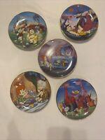 Franklin Mint Hanna-Barbera | The Flintstones Limited Edition Porcelain Plate(5)