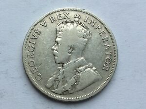 George V 1934 South African .800 Silver Florin