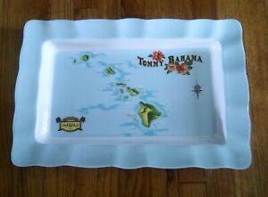 Tommy Bahama Melamine Serving Tray Hawiian  19 x 12