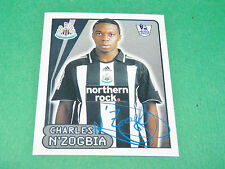 N°446 CHARLES N'ZOGBIA NEWCASTLE MERLIN PREMIER LEAGUE FOOTBALL 2007-2008 PANINI