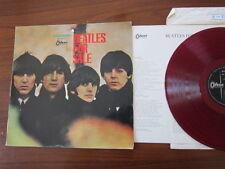 BEATLES For Sale Japan RED VINYL LP original Odeon