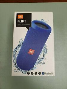 JBL Flip 3 Splashproof Bluetooth Speaker Blue FREE Shipping