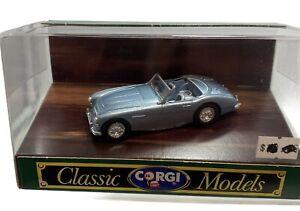Vintage Corgi diecast Austin Healey 3000 Open Top collectible Car D734