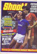 GRAEME SHARP - EVERTON / ALAN HANSEN - LIVERPOOL Shoot25Aug 1984