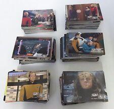 Original - Star Trek Generation Trading Collection Cards Job Lot / Bundle