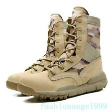 Men Desert Tactical Military Boots Mens Working Safty Shoes Army Combat Boots L