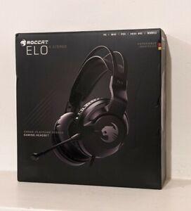 Roccat Elo X Stereo Gaming Headset (black headphones, Turtle Beach)