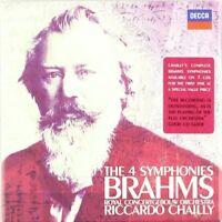 RICCARDO/CGO CHAILLY - SÄMTLICHE SINFONIEN 1-4 (GA) 3 CD NEW BRAHMS,JOHANNES
