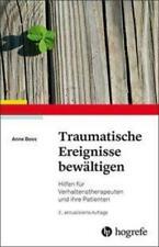 Traumatische Ereignisse bewältigen   Anne Boos   Taschenbuch   Deutsch   2019
