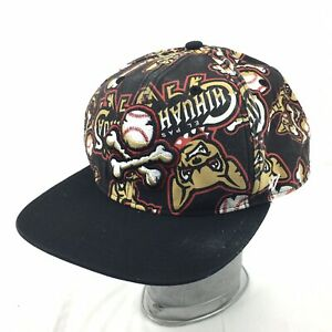 El Paso Chihuahuas All Over Print Hat Minor League Baseball SnapBack Cap