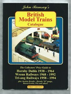 Ramsay's British Model Trains Catalogue (Hornby, Wrenn, Tri-ang) 1st edn 1998