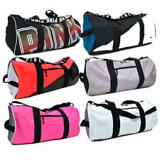 Victoria's Secret Pink Duffle Bag Weekender Luggage Carry On Tote Vs New Nwt