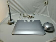 Bamboo Fun (Small) Silver Tablet with Pen, Mouse model CTE 450