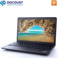 "Lenovo Laptop E540 15.6"" HD Core i5 8GB 256GB SSD Webcam Wifi Windows 10 Pro PC"